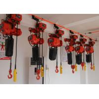 Electric Chain Hoist With Low Headroom / Heavy Duty Performance For Lifting And Handling Manufactures
