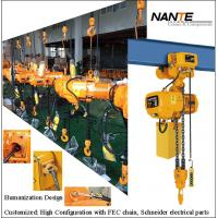 Maintenance HHBB Electric Chain Hoist With Hook High Configuration Manufactures