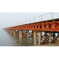 China Steel bailey bridge design and fabrication with Assembled Temporary on sale