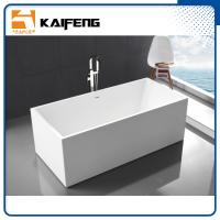 Small Stand Alone Bathtubs , Deep Freestanding Soaking Tubs For Small Spaces Manufactures