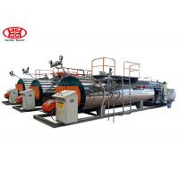 Fire Tube 2 T/H Horizontal Steam Boiler Dual Fuel Type Garment Factory Usage Manufactures