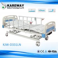 Plastic Cranks Motorised Hospital Bed 1.2mm Thickness 3 Functions Hospital Furniture Manufactures