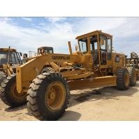 High Speed CAT Old Motor Graders , Road Maintainer Grader 14G With 3 Shrank Ripper Manufactures