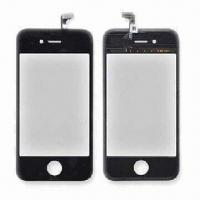 Quality Touch Screen Display, Suitable for iPhone 3G/3GS/4, Available in Black and White for sale