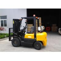 Dual Fuel Forklift Industrial Forklift Truck ,  3000MM Lifting Height Propane Tank Forklift Manufactures