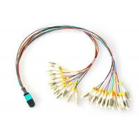 FTTH MPO - LC Fiber Optic Patch Cord OM3 OM4 Patch Cord Multi-mode Manufactures