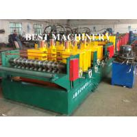 Quick Change Size Ladder Type Cable Tray Forming Machine Punching Holes Manufactures