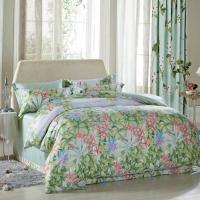 Luxury Beautiful Home Bedding Sets Twin Size / Queen Size Silk Material Manufactures