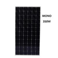 Quality Cost-effective 350 Watt Mono Solar Panel Applied in Industrial and Commercial Solar Plants Three Phase grid connected for sale
