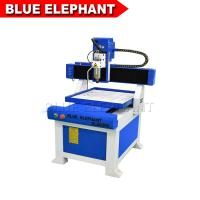 Buy cheap ELECNC- 6060 Mini Advertising CNC Router with Moving Table for Carving Plywood from wholesalers