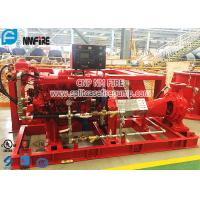 Firefighting Use Horizontal End Suction Diesel Engine Driven Fire Pump Set Manufactures
