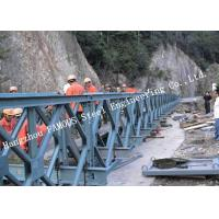 200 Type Permanent Galvanized Surface Treatment Steel Bailey Bridge Double Rows Bridge Manufactures