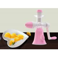 China Frozen Fruit Ice Cream Maker No Harmful Additive Power Free Whole Unit Washable on sale