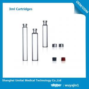 NO Silicide Insulin Pen Cartridge Neutral Borosilicate Glass Material