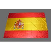China Silk Screen Printed Outdoor Advertising Flags , Durable National Flags on sale