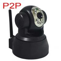 P/T CMOS Wireless Home Security Cameras VGA 640x480 Support TCP / HTTP Manufactures