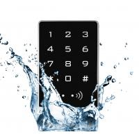 Anti Corrosion Standalone Keypad Access Control RFID Reader Metal Aluminum Alloy Manufactures