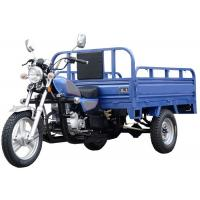 China Gasline Cargo Motorbike 3 Wheel Motorized Tricycle Open Body Type For Adults on sale