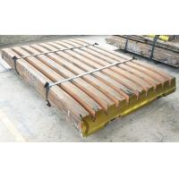 China Jaw crusher plate and liner/ jaw crusher jaw plate on sale