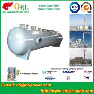 Garbage Incineration Instrument Boiler Mud Drum TUV Certification Manufactures