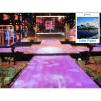 China P4.81 Outdoor Rental Led Backdrop Floor Display Screen High Definition High Brightness for Outdoor Wedding on sale