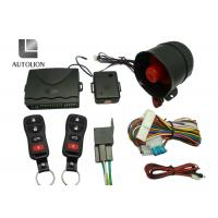 Long Distance High Tech Car Security Systems , Vehicle Security And Remote Start Systems Manufactures