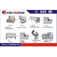 Banana / Potato Chips Manufacturing Machine , Slice Potato Wafer Making Machine Manufactures