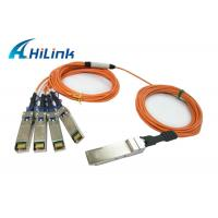 Hot Pluggable QSFP Optical Cable QSFP-4X10G-AOC2M Energy Saving Hilink Brand Manufactures