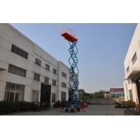 11m Manual Pushing Mobile Scissor Lift  Loading 450kg for sale