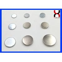Rare Earth NdFeB Permanent Magnet Circle Round Type For Acrylic Industry Manufactures