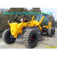15000kg SHMC Motor Graders GR165 with D6114 Engine , Yellow Or Other Color You for sale