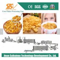 Automatic Corn Flakes Production Line / Cereal Bar Making Machine Manufactures