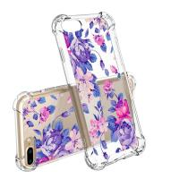 Flower Slim Scratch Resistant TPU Bumper Cover PC Cell Phone Cases For IPhone 7 Manufactures