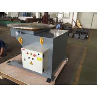 2 Ton Head Tail Rotating Welding Positioner 1.1kw Motor With Drive / Idler Manufactures