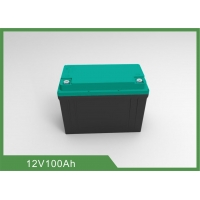 China Rechargeable 1.28KWh 12V 100Ah LiFePO4 Bluetooth RV Battery on sale