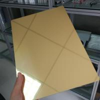 Buy cheap Waterproof Aluminum Mirror Sheet 1mm 2mm 3mm Thickness Perforated Exterior from wholesalers
