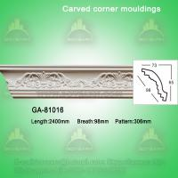 Good Quality European- style Decorative PU Carved Crown Moulding for Ceiling