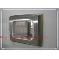 ISO CE Verified Pass Box Air Shower In Clean Room Transmission Window Pass Transfer Box Manufactures