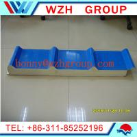 50mm thick PU roof panel and wall panel / sandwich panel price per m2 Manufactures