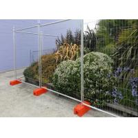 Swimming Pools Temporary Construction Fence Panels / Building Site Fencing Manufactures