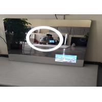 Anti - Fog HD Hotel Mirror Tv  High Brightness USB Supported Scratch Resistance Manufactures