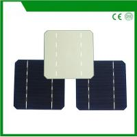 China 125*125mm mono solar cell, mono-crystalline silicon solar cell with 2BB / 3BB for cheap sale on sale