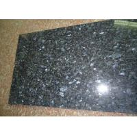 30.5x30.5cm Blue Pearl Granite Tile , Granite Kitchen Wall Tiles Iridescent Look Manufactures