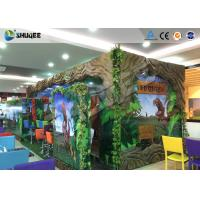Dinosaur Decoration Cabin Box 220V 5D Digital Theater System For Children Amusement Manufactures