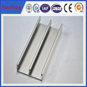 aluminum profiles for doors factory/ 6063 t5 aluminum extrusion press profile for windows Manufactures