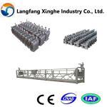 ZLP800 hot galvanized steel suspended platform/cradle/swing stage/gondola Manufactures