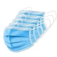 High Bacteria Filtration Disposable 3 Ply Face Mask , 3 Ply Non Woven Face Mask Manufactures