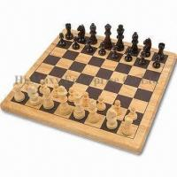 China Wooden Chess Set, Measuring 29 x 29 x 1.8cm on sale