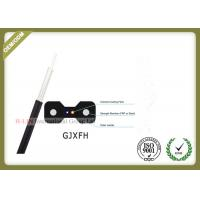 GJXFH FTTH 2 Core Indoor Fiber Optic Drop Cable for home cabling system Manufactures