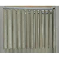 89mm pvc vertical blinds for windows with s shapes vane and wand control Manufactures